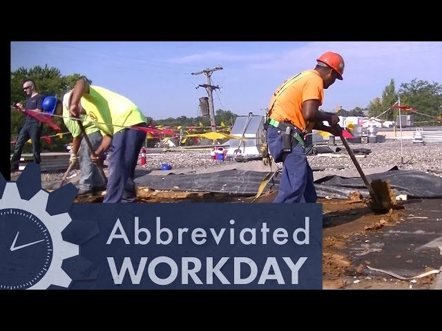 Repairing The Roof: Abbreviated Workday #48