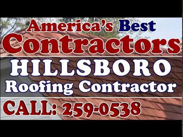 Hillsboro Roofing Contractor 503-259-0538