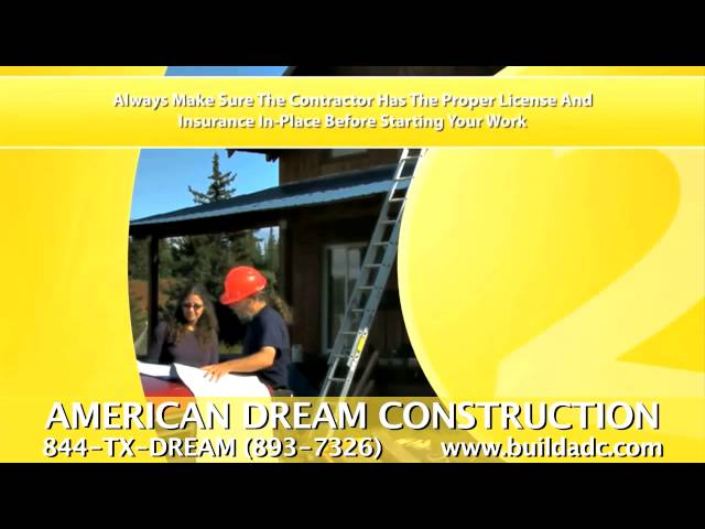 American Dream Construction Choosing The Right Roofing Contractor Tips