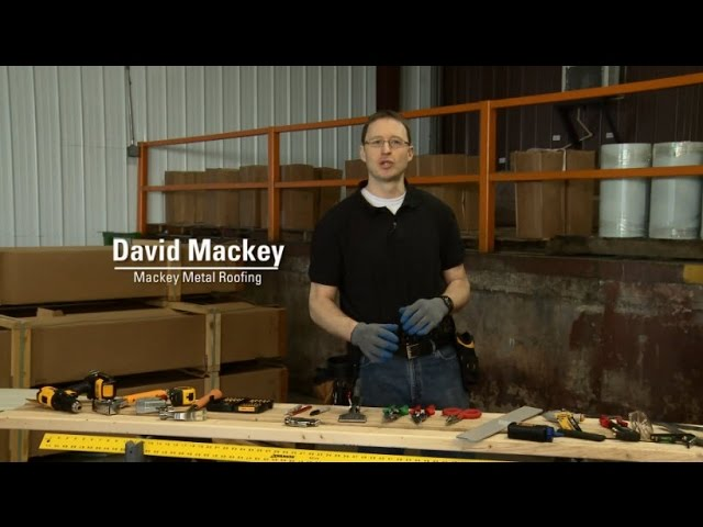 Metal Roofing Installation: Tools + Tips