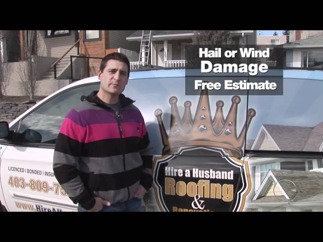 Roofing Companies Calgary | Calgary Roofers & Roofer Contractors | Hire A Husband Roofing