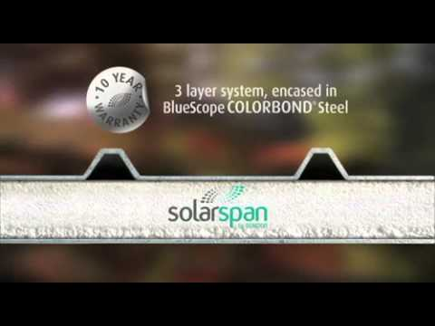 SolarSpan Insulated Roof For Patios, Pergolas, Residential And Commercial Roofing