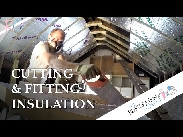 How To Cut And Fit Insulation Boards | TRC Top Tips