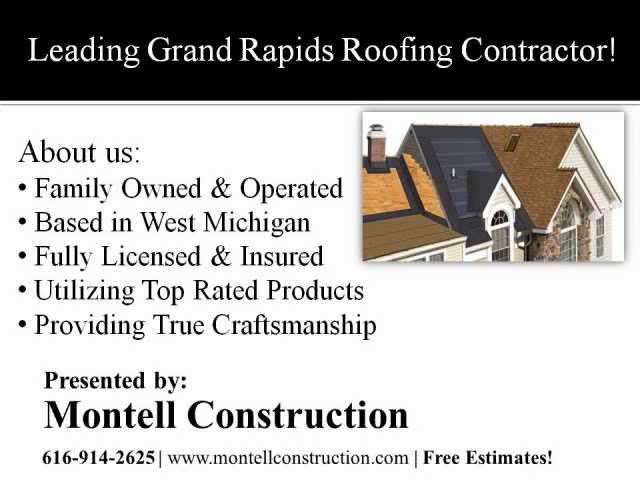 Grand Rapids Roofing Contractor | Grand Rapids Roofing Company.wmv