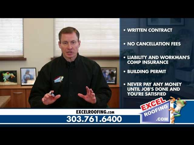 Five Tips For Hiring A Contractor | Excel Roofing | Denver Roofing Company