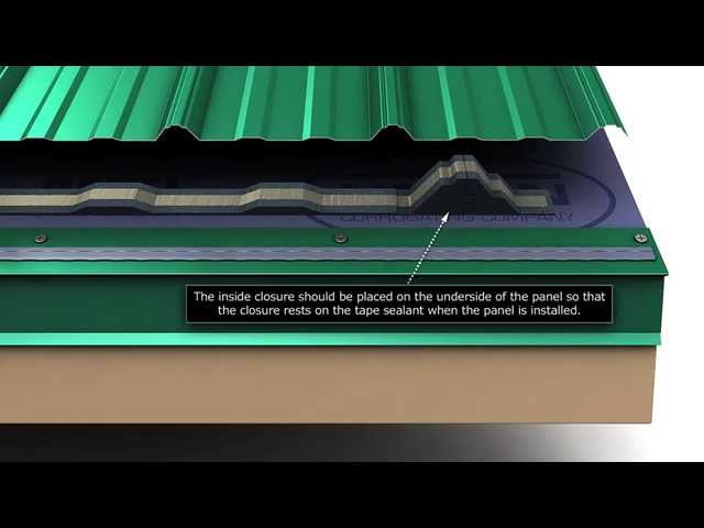 How To Install Union's MasterRib Metal Roofing Panels.