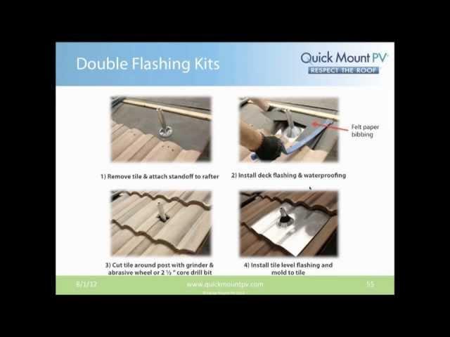 Quick Mount PV Webinar – Solar Roofing Best Practice – Residential | RENVU.com