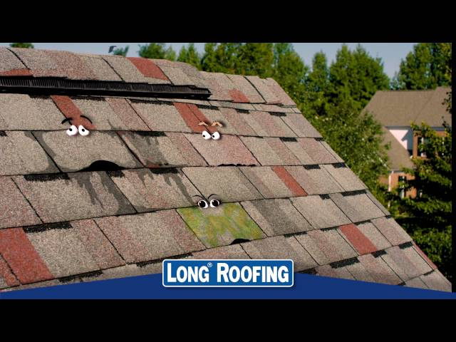 Long Roofing Shingle TV Commercial