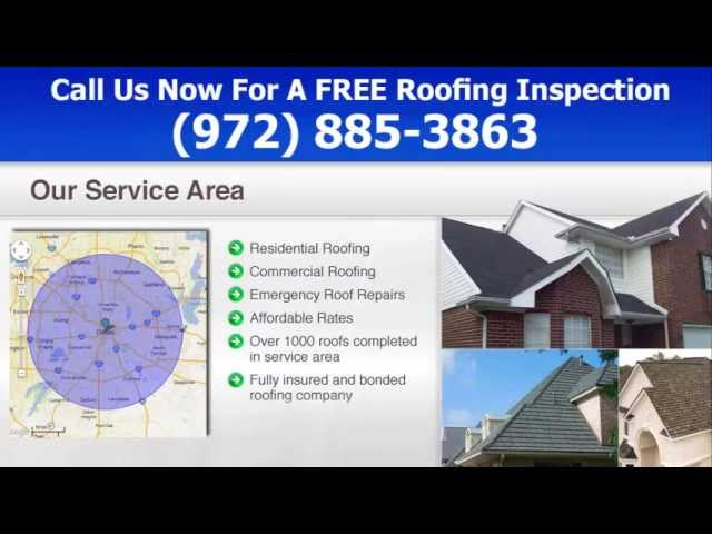 Roofing Contractors Dallas, TX – (972) 885 – 3863