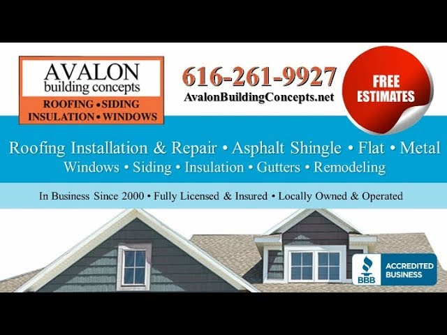 Avalon Building Concepts | Grand Rapids MI Roofing Contractors