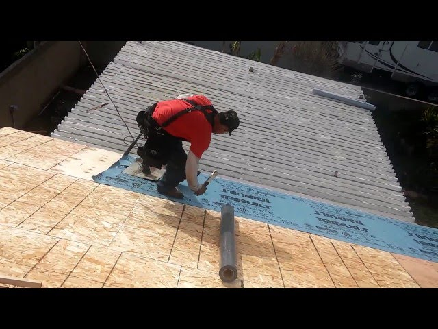 ROOF PREPARATION , Try This Method …very Effective And Productive, How To Be A Good Roofer.