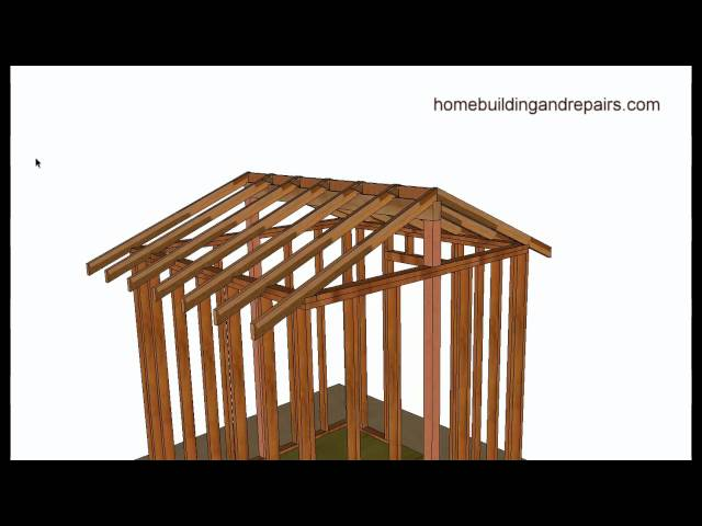 Vaulted Or Cathedral Roof Framing Basics – Home Building And Remodeling Tips