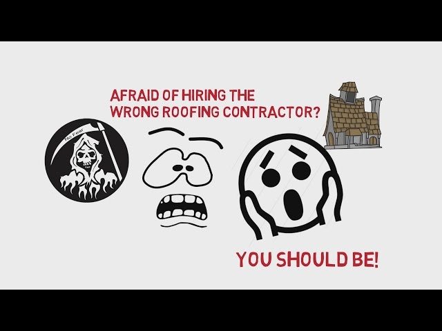 How Not To Hire A Roofing Contractor!