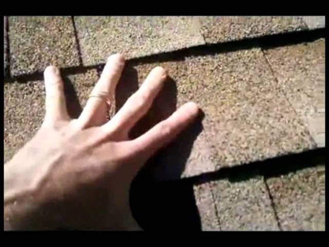 Improper Architectural Shingle Installation – By Tadlock Roofing University