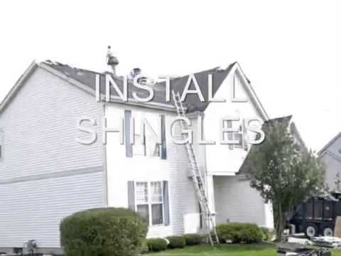 Mr. Roof Shingle Installation Time Lapse