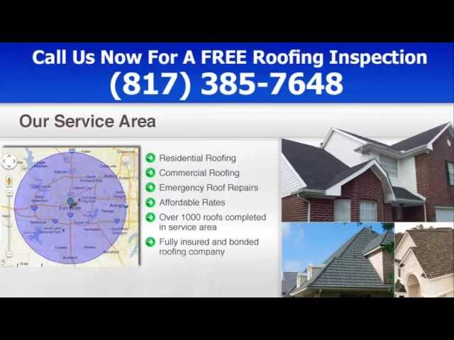 Roofing Contractors Fort Worth, TX – (817) 385-7648