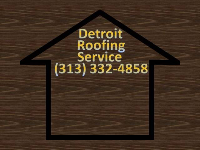 Call 313-332-4858 | Absolutely The Best Roofing Companies In Detroit Michigan | Roof Repair|