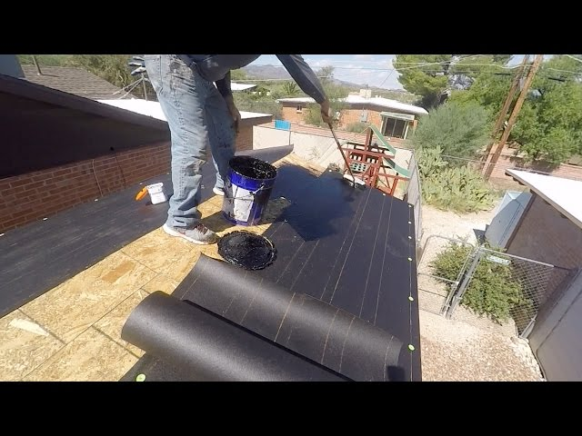 ROOFING PAPER AND PROPER INSTALLATION