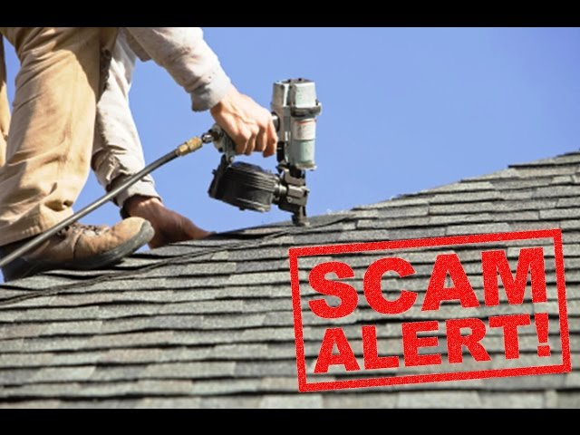 6 Roofing Company Scams – Dont' Be The Next Vicitim!