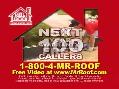Mr. Roof Largest Shingle Rebate!